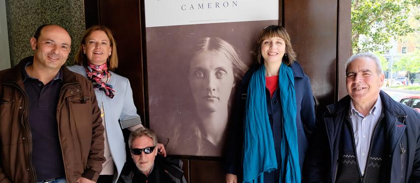 Visita a la exposición de Julia Margaret Cameron