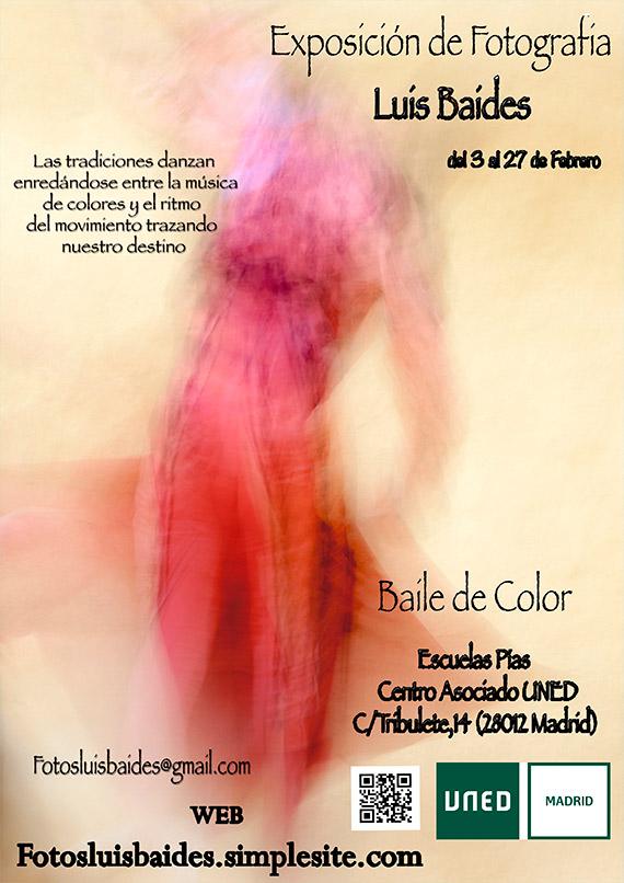 Luis Baides expone Baile de Color