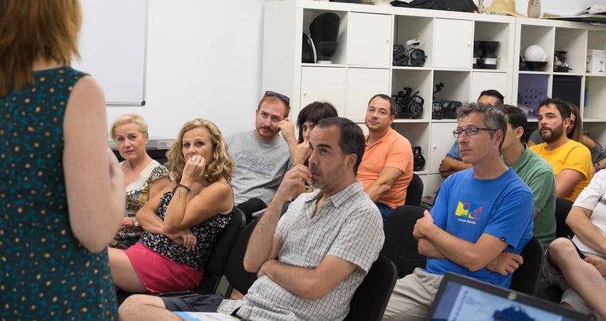 Así fue la clase gratuita 'Introducción a la composición' del 13 de julio en La Máquina