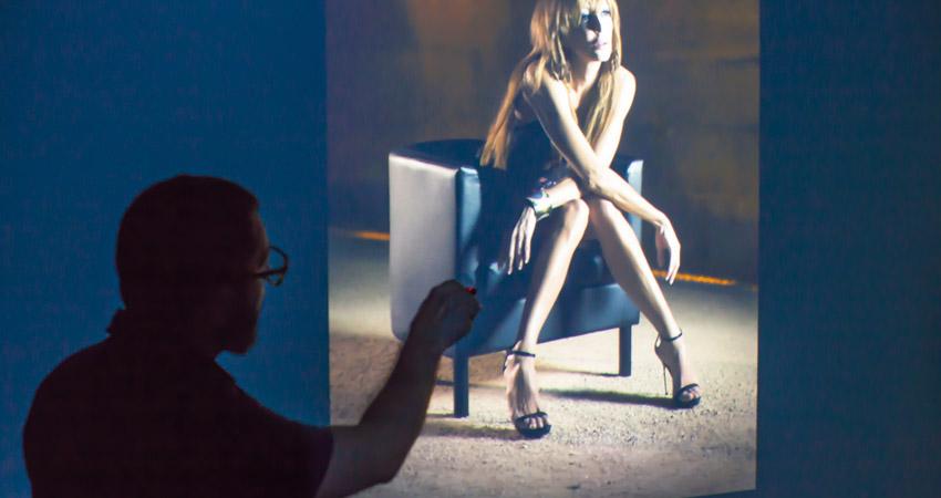 Así fue la clase gratuita de fotografía de retrato del 2 de octubre en La Máquina