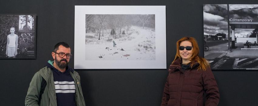 Rojo Sache: Rosa Isabel Vázquez y Jose Antonio Fernández presentan su obra en la exposición del Art Laguna Prize