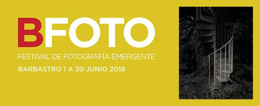 José Quintanilla, profesor de La Máquina, expone en el festival Bfoto de Barbastro