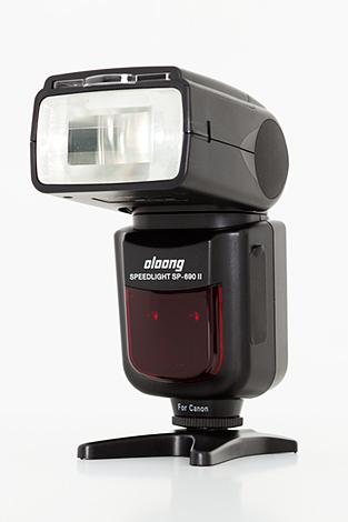 Test: Flash de mano OLOONG 690 II para Canon