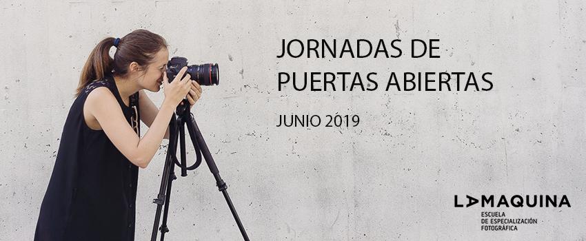 Jornada de puertas abiertas La Máquina Junio 2019