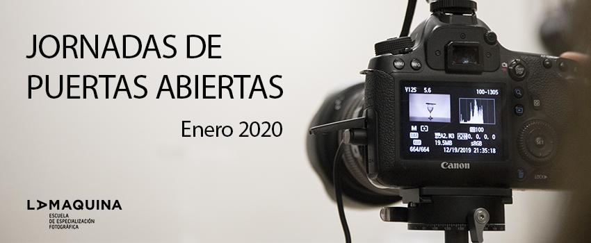 Jornadas de Puertas Abiertas La Máquina Enero 2020
