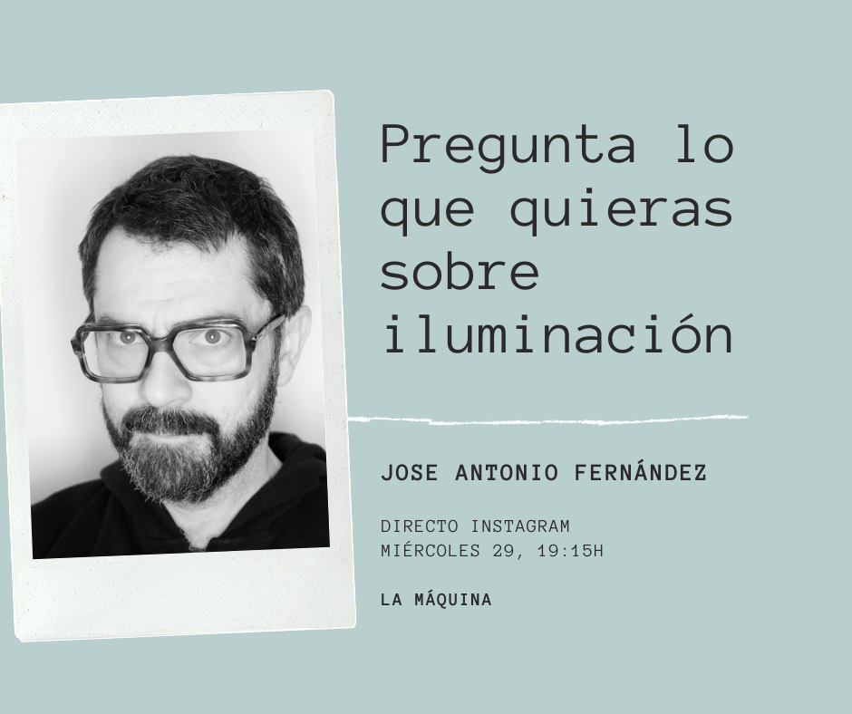 Jose Antonio Fernández responde tus dudas de iluminación