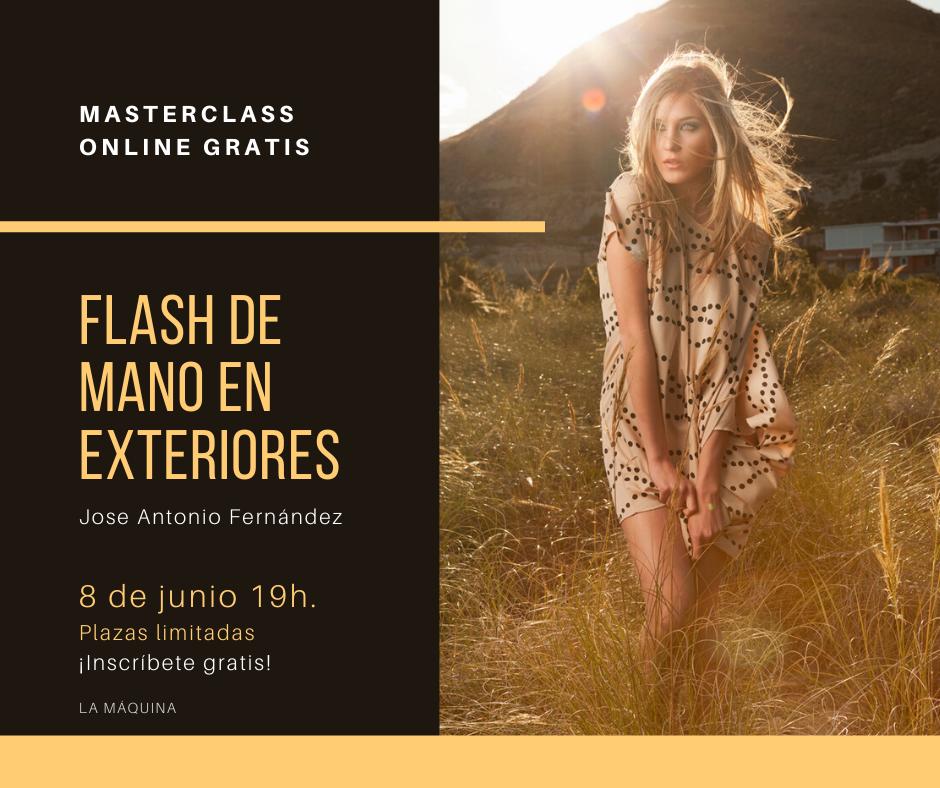 Masterclass online gratuita: el flash de mano en exteriores