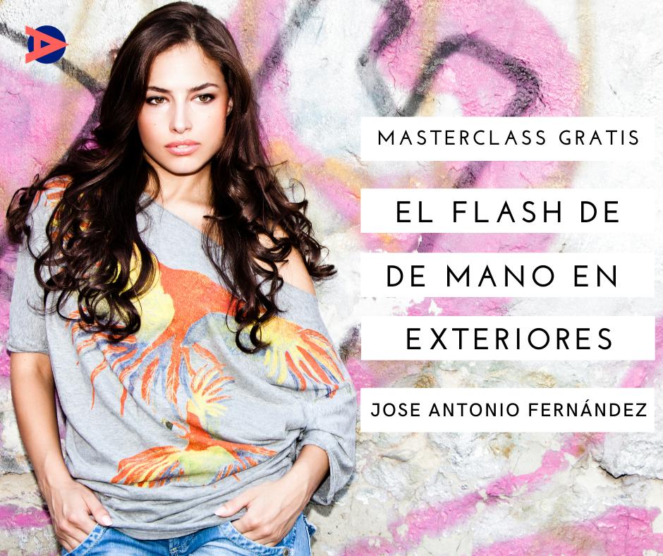 Masterclass El flash de mano en exteriores