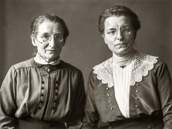 Maestras de escuela primaria © August Sander