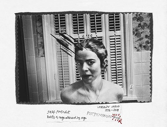 Donna Ferrato. Selfportrait